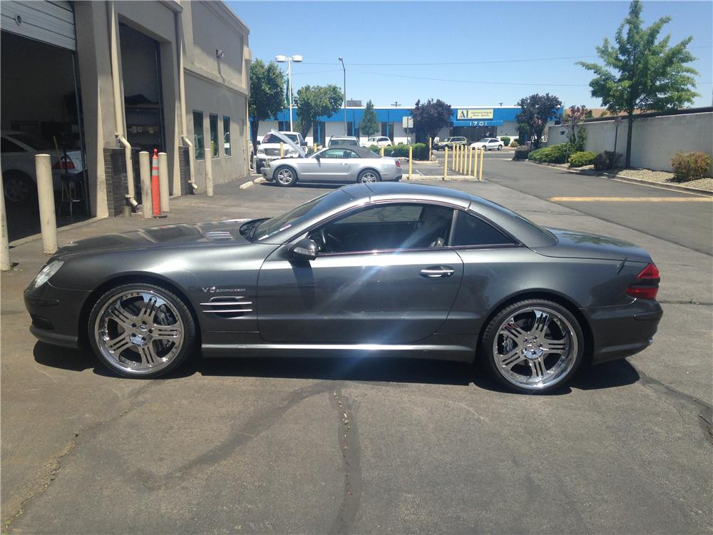 2003 MERCEDES-BENZ SL55 AMG CONVERTIBLE - Side Profile - 174681