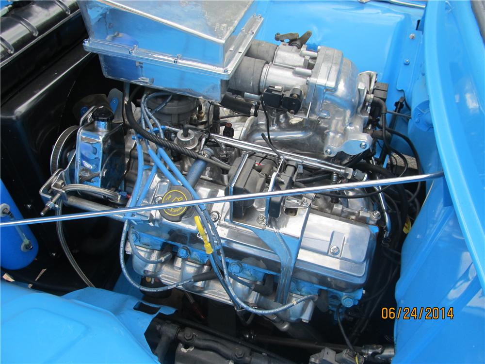 1956 FORD F-100 CUSTOM PICKUP - Engine - 174683