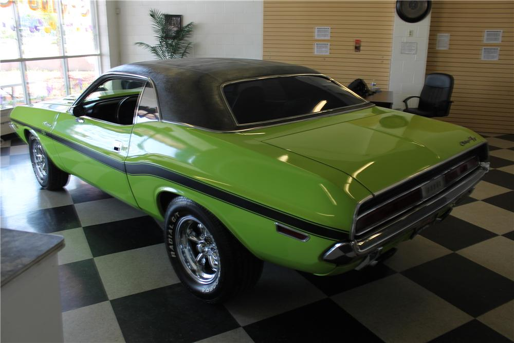 1970 dodge challenger 2 door hardtop 174694. Black Bedroom Furniture Sets. Home Design Ideas