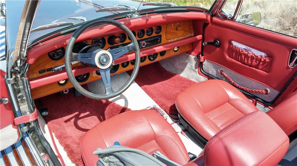 1978 CLENET SERIES I ROADSTER - Interior - 174697