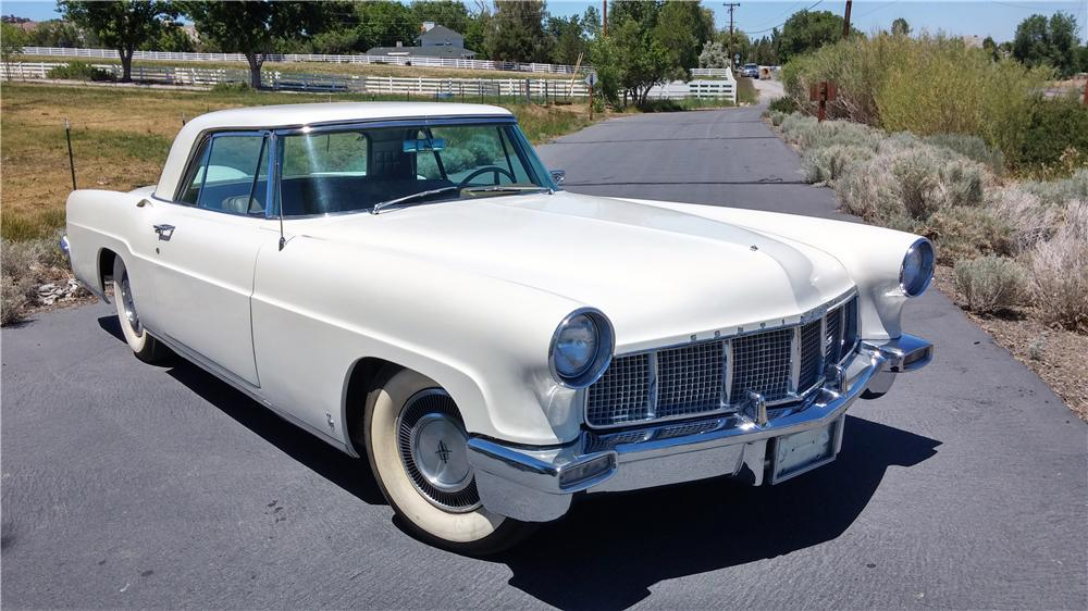 1956 LINCOLN CONTINENTAL MARK II 2 DOOR SEDAN - Front 3/4 - 174698