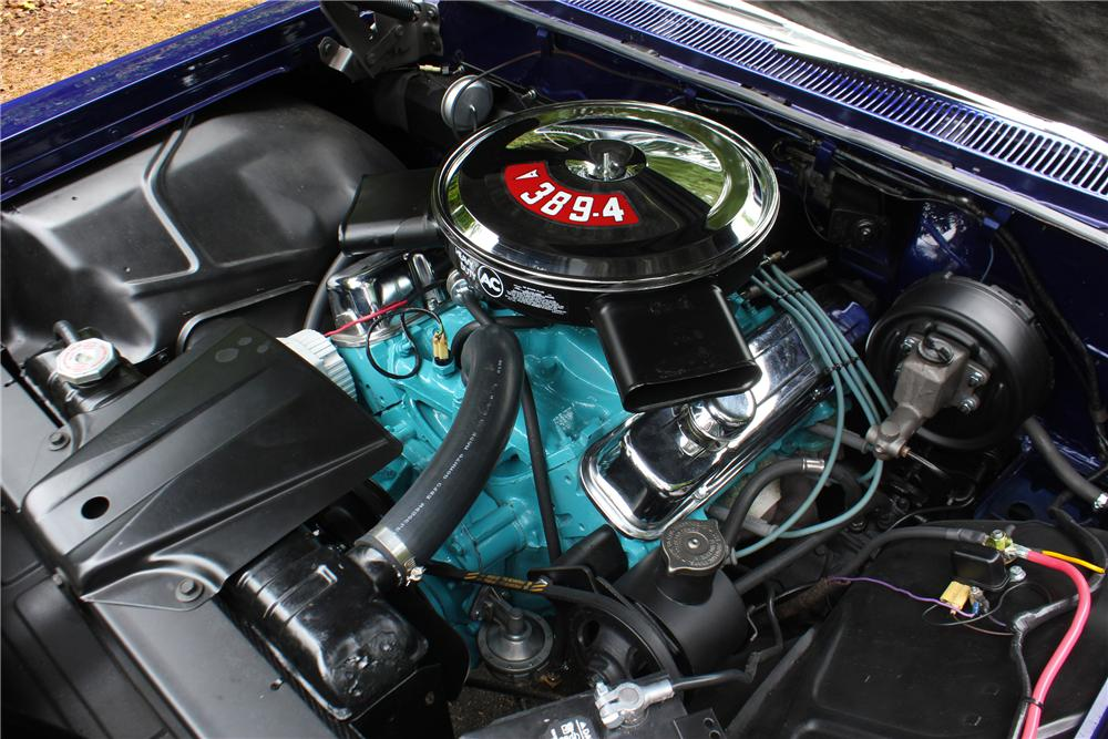 1960 PONTIAC CATALINA CONVERTIBLE - Engine - 174709