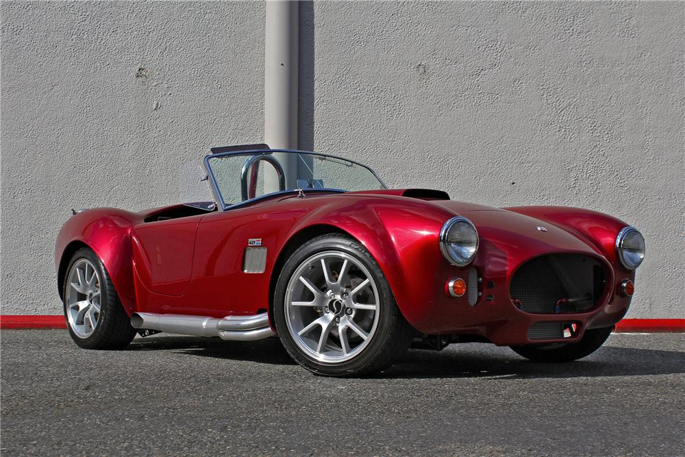 1965 SHELBY COBRA RE-CREATION ROADSTER - Front 3/4 - 174710