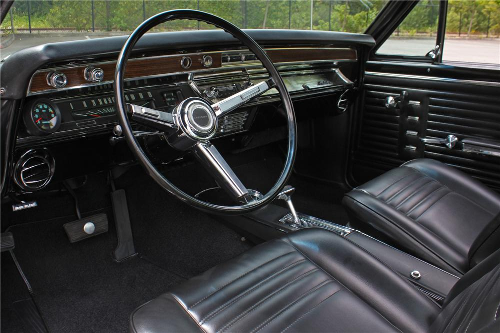 1967 CHEVROLET EL CAMINO CUSTOM PICKUP - Interior - 174712