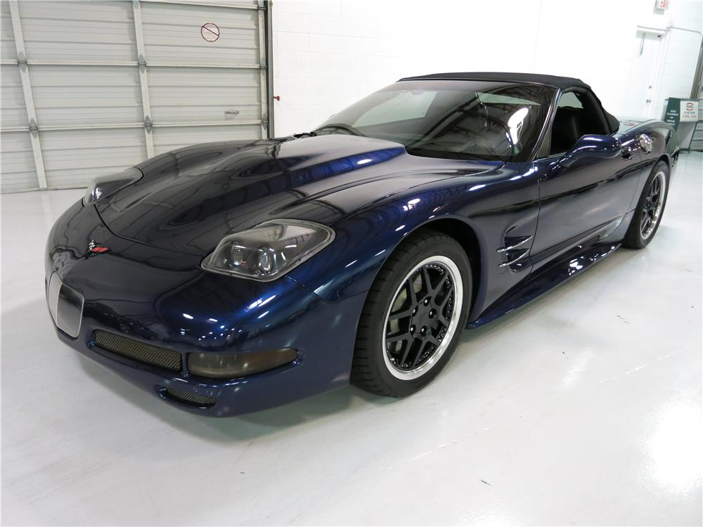 2000 CHEVROLET CORVETTE CUSTOM CONVERTIBLE - Front 3/4 - 174726