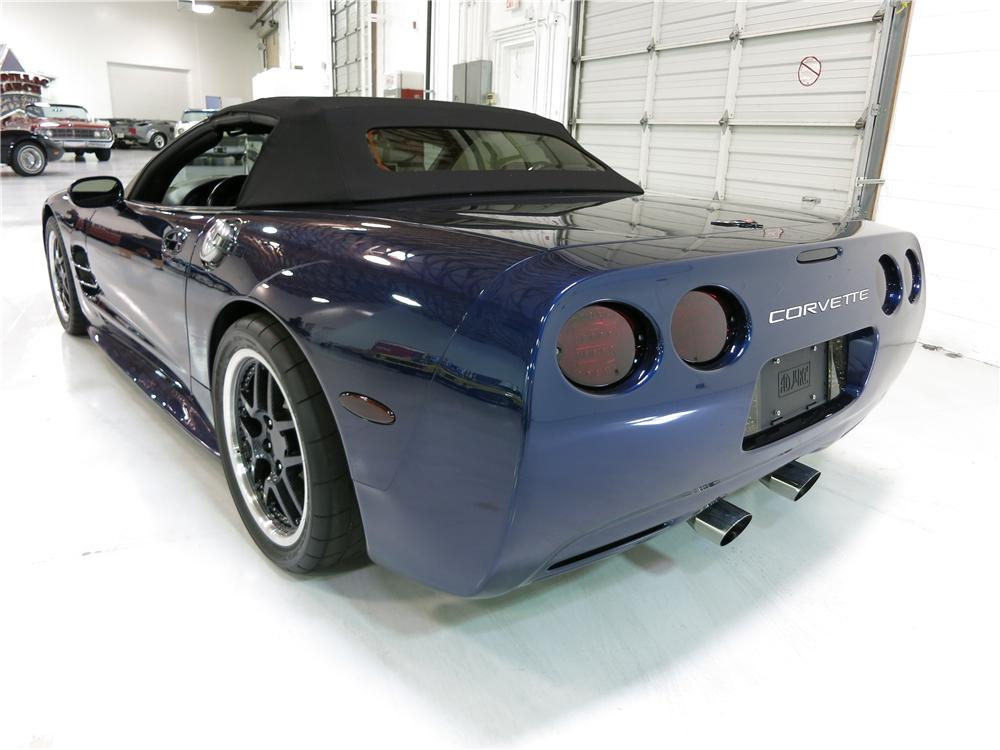 2000 CHEVROLET CORVETTE CUSTOM CONVERTIBLE - Rear 3/4 - 174726