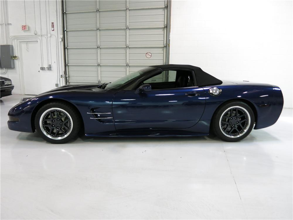 2000 CHEVROLET CORVETTE CUSTOM CONVERTIBLE - Side Profile - 174726