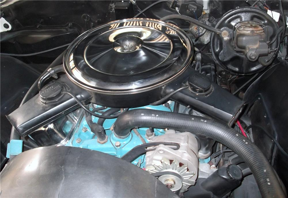 1969 PONTIAC GTO CONVERTIBLE - Engine - 174735