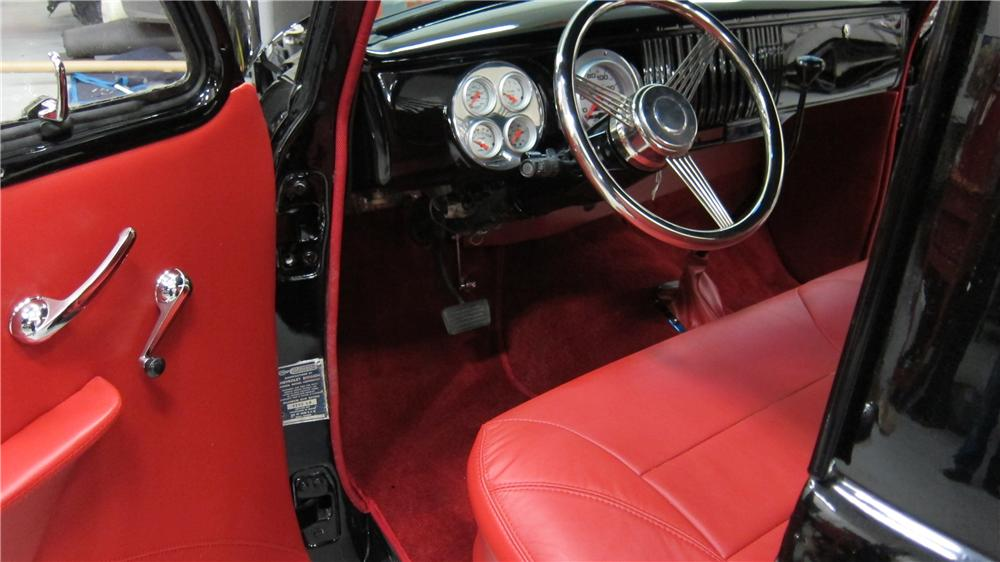 1955 CHEVROLET 3100 CUSTOM PICKUP - Interior - 174736
