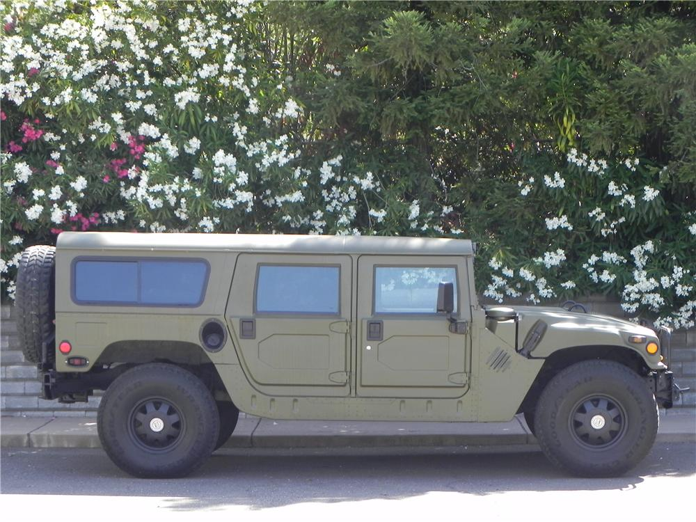 1992 AM GENERAL HUMMER H1  - Side Profile - 174744
