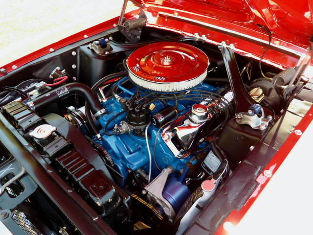 1968 FORD MUSTANG CONVERTIBLE - Engine - 174751