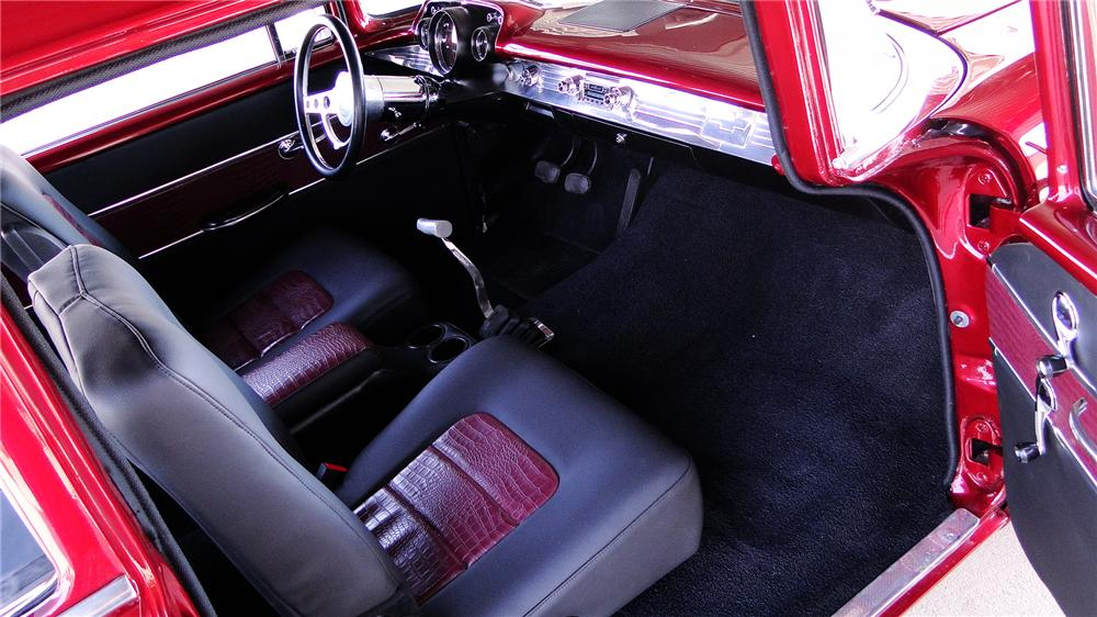 1957 CHEVROLET 210 CUSTOM 2 DOOR SEDAN - Interior - 174753
