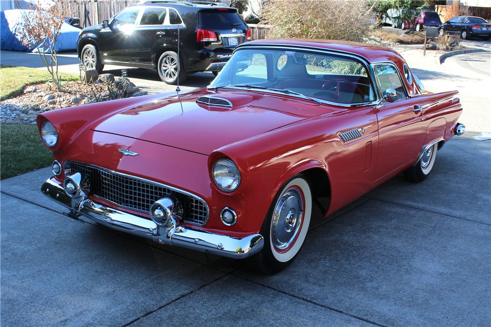 1956 FORD THUNDERBIRD CONVERTIBLE - Front 3/4 - 174759