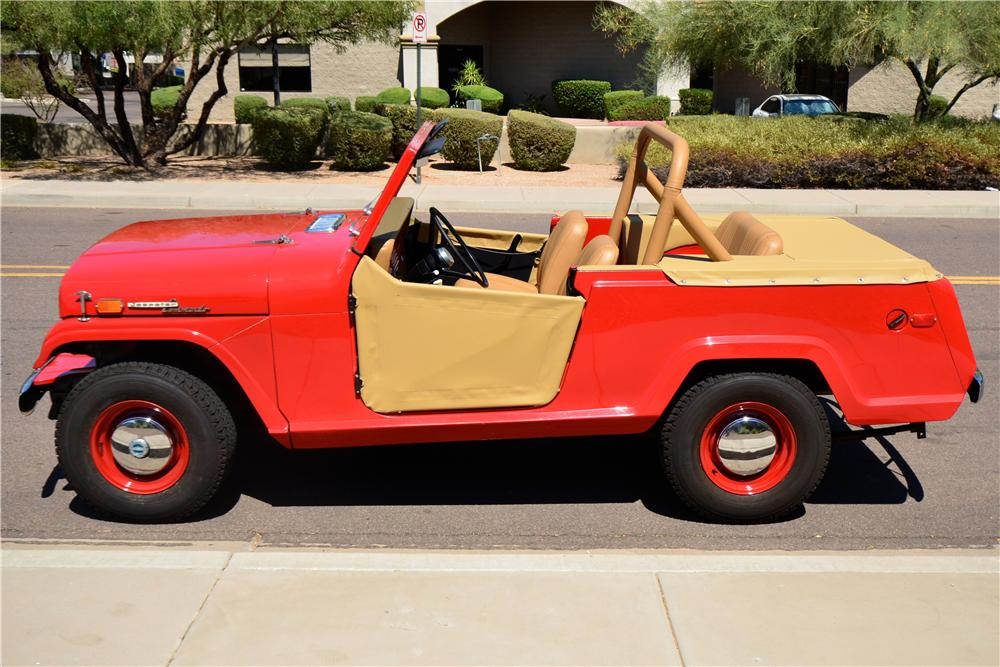 1969 JEEP JEEPSTER COMMANDO ROADSTER - Side Profile - 174763