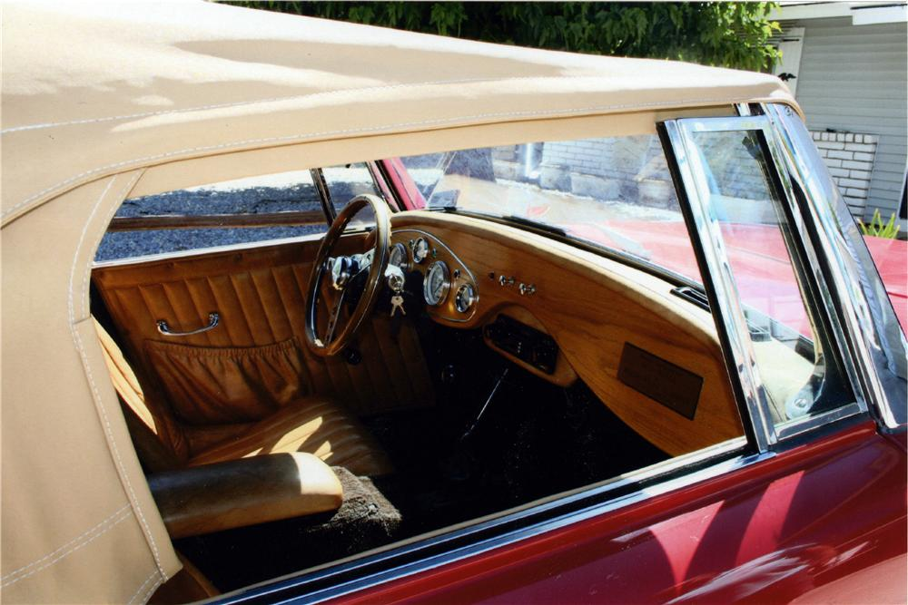 1985 CLR SAXON ROADSTER - Interior - 174862