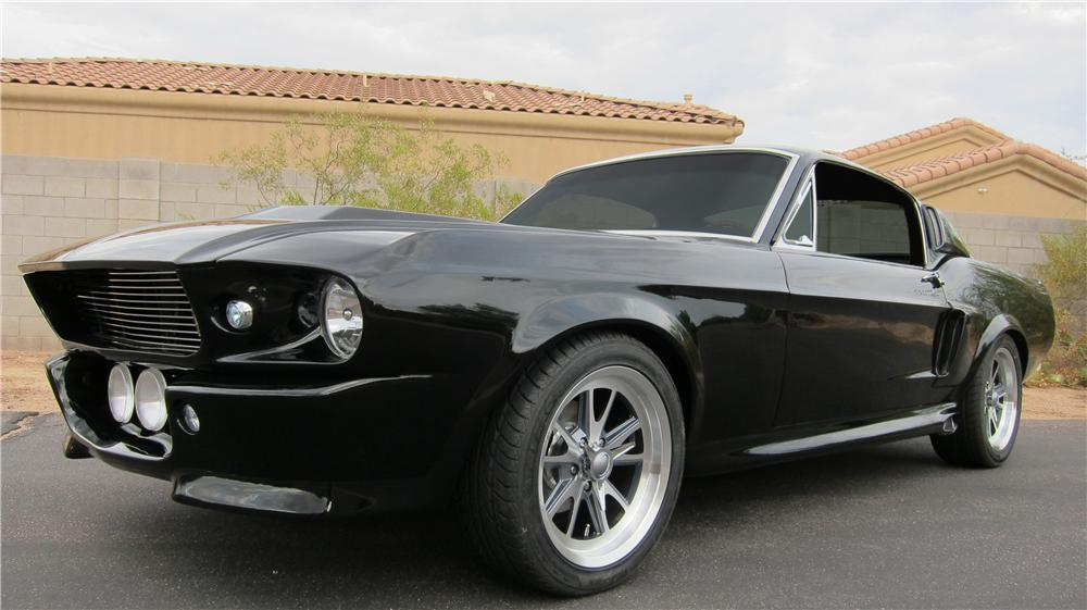 1967 FORD MUSTANG CUSTOM FASTBACK - Front 3/4 - 174905
