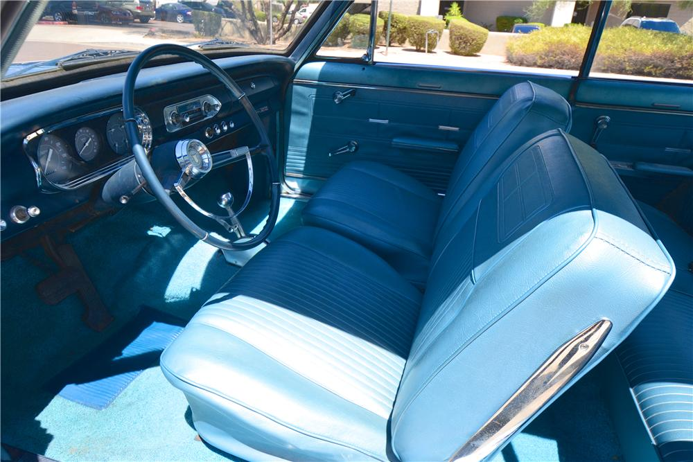 1963 CHEVROLET NOVA CUSTOM 2 DOOR HARDTOP - Interior - 174944