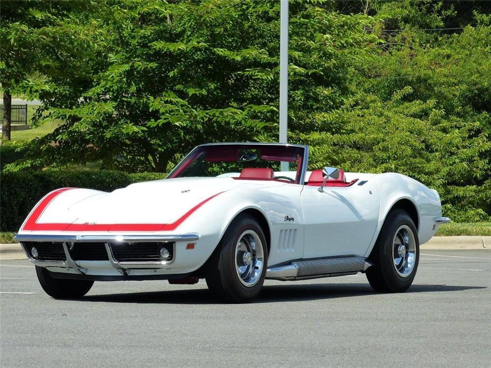 1969 chevrolet corvette convertible 175139. Black Bedroom Furniture Sets. Home Design Ideas