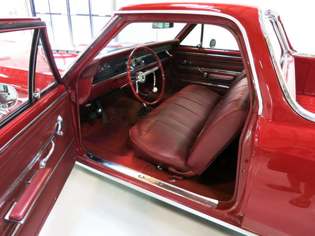 1966 CHEVROLET EL CAMINO PICKUP - Interior - 175149