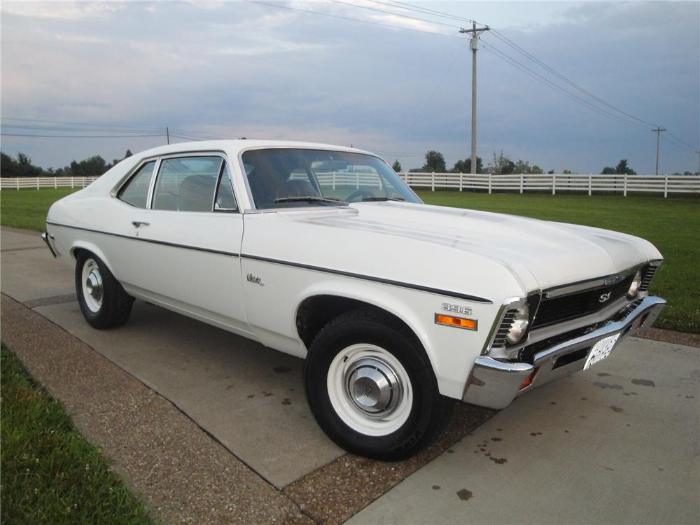 1970 CHEVROLET NOVA 2 DOOR COUPE - Front 3/4 - 175154