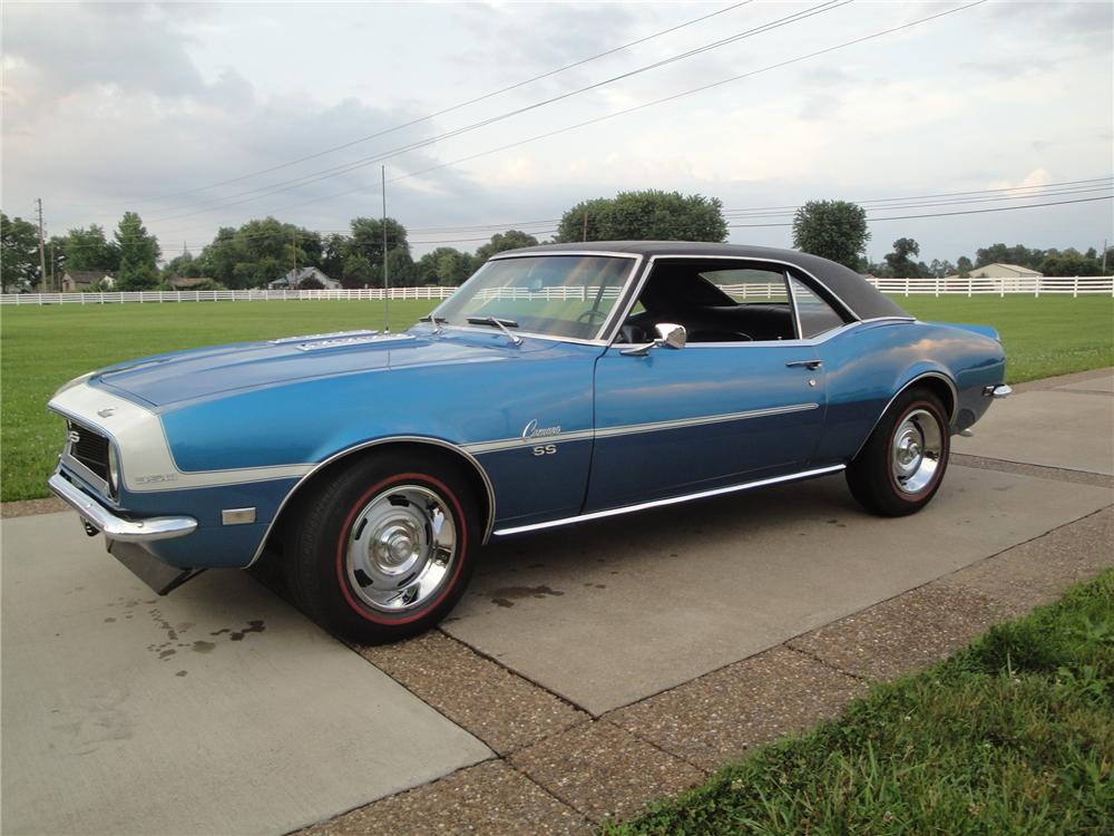 1968 CHEVROLET CAMARO 2 DOOR COUPE - Front 3/4 - 175155