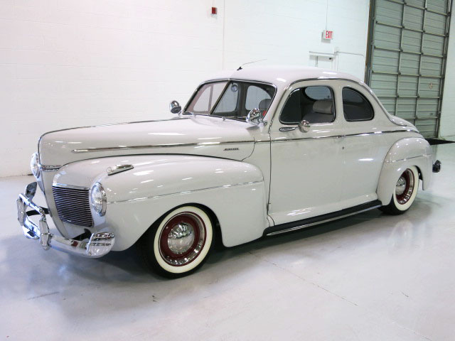 1941 MERCURY SUPER DELUXE CUSTOM BUSINESS COUPE - Front 3/4 - 175159