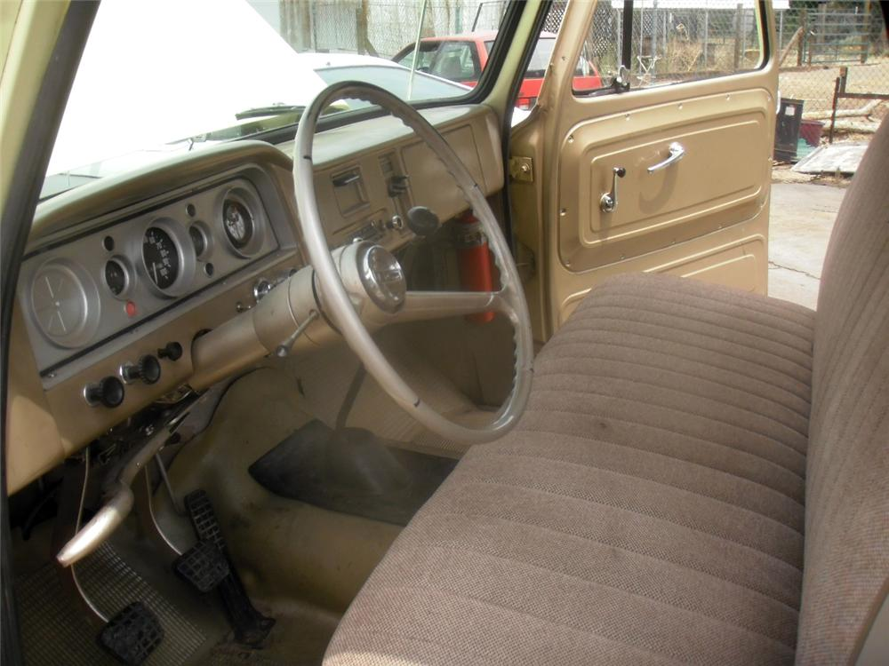 1964 GMC 1500 PICKUP - Interior - 175164