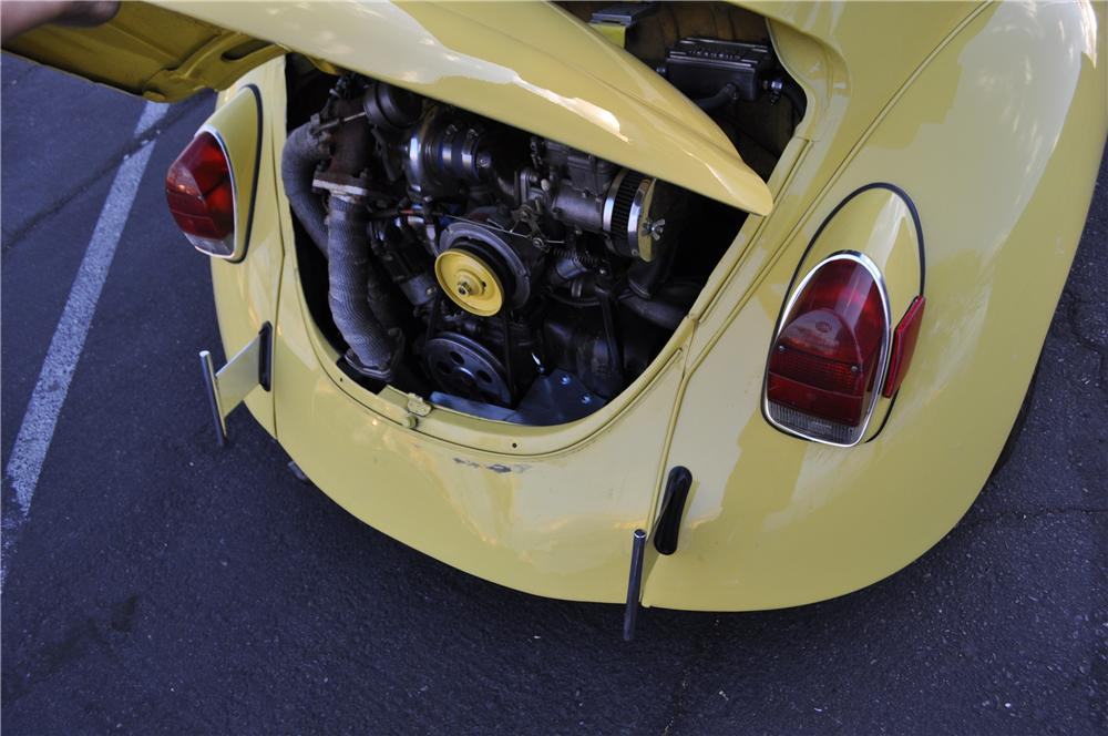 1971 VOLKSWAGEN BEETLE CUSTOM CONVERTIBLE - Engine - 175167