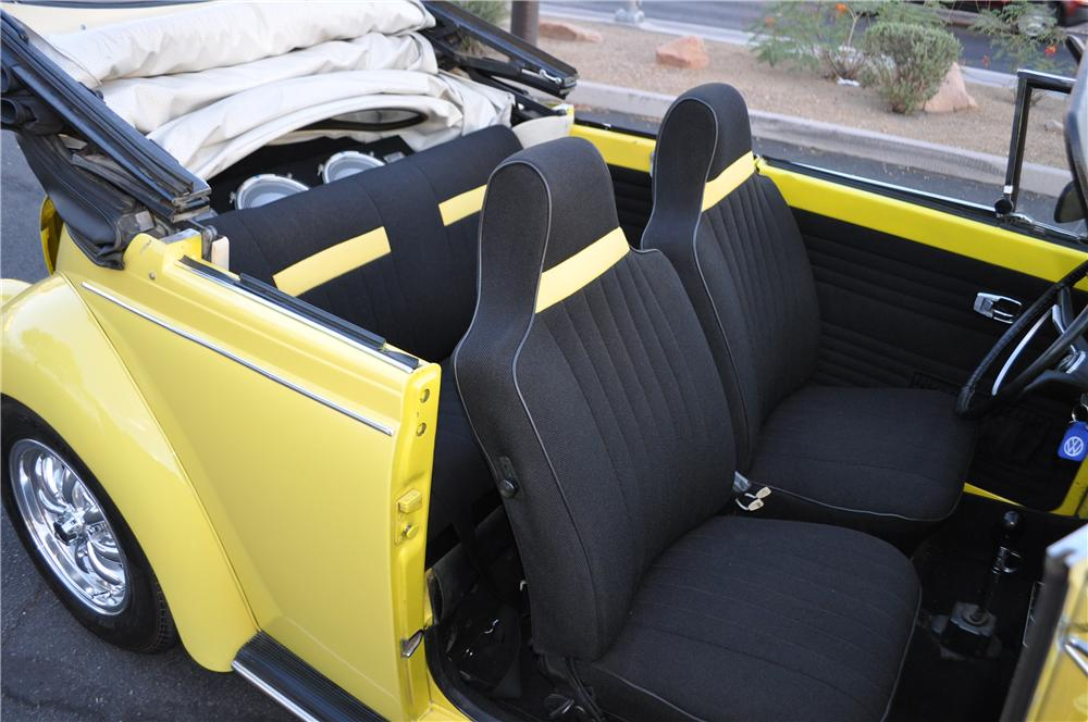 1971 VOLKSWAGEN BEETLE CUSTOM CONVERTIBLE - Interior - 175167