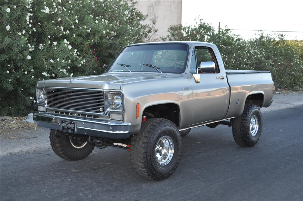 1978 CHEVROLET C-10 CUSTOM PICKUP - Front 3/4 - 175168