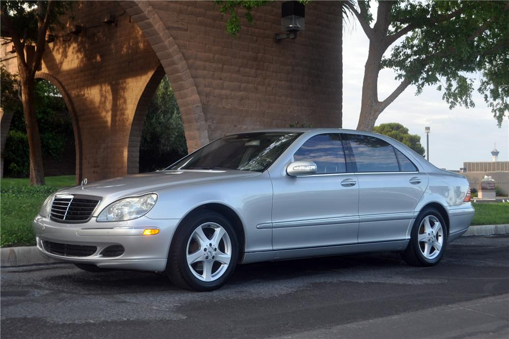 2004 MERCEDES-BENZ S430 4 DOOR SEDAN - Front 3/4 - 175171