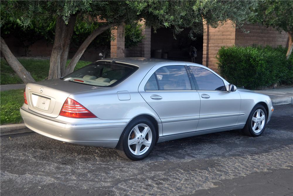 2004 MERCEDES-BENZ S430 4 DOOR SEDAN - Rear 3/4 - 175171