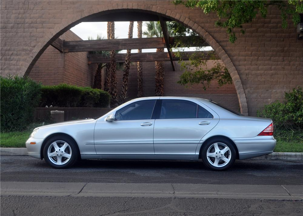 2004 MERCEDES-BENZ S430 4 DOOR SEDAN - Side Profile - 175171