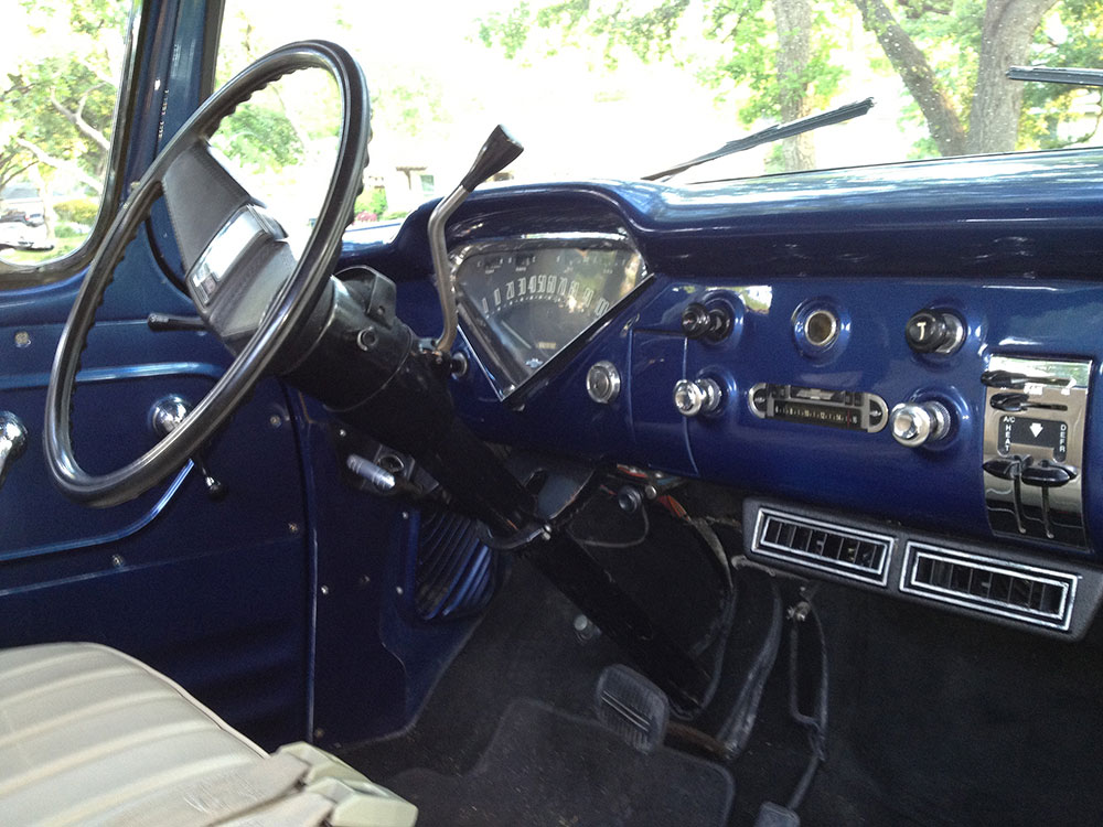 1959 CHEVROLET 3200 CUSTOM PICKUP - Interior - 175178