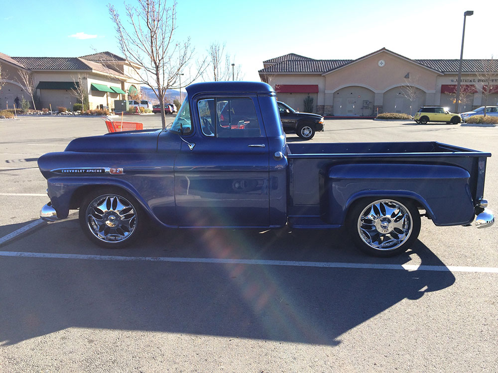1959 CHEVROLET 3200 CUSTOM PICKUP - Rear 3/4 - 175178