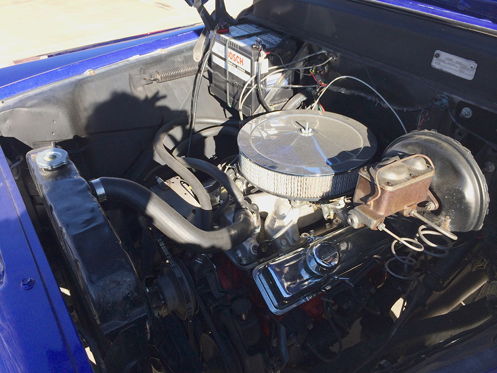 1958 CHEVROLET 3100 CUSTOM PICKUP - Engine - 175179