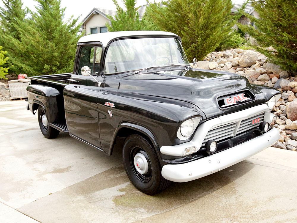 1957 GMC 100 PICKUP - Front 3/4 - 175180