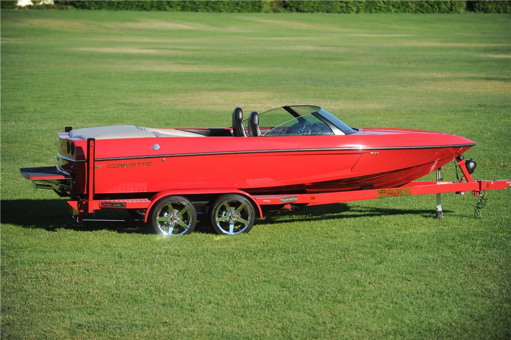 2008 EXTREME BOAT TRAILER - Side Profile - 175184