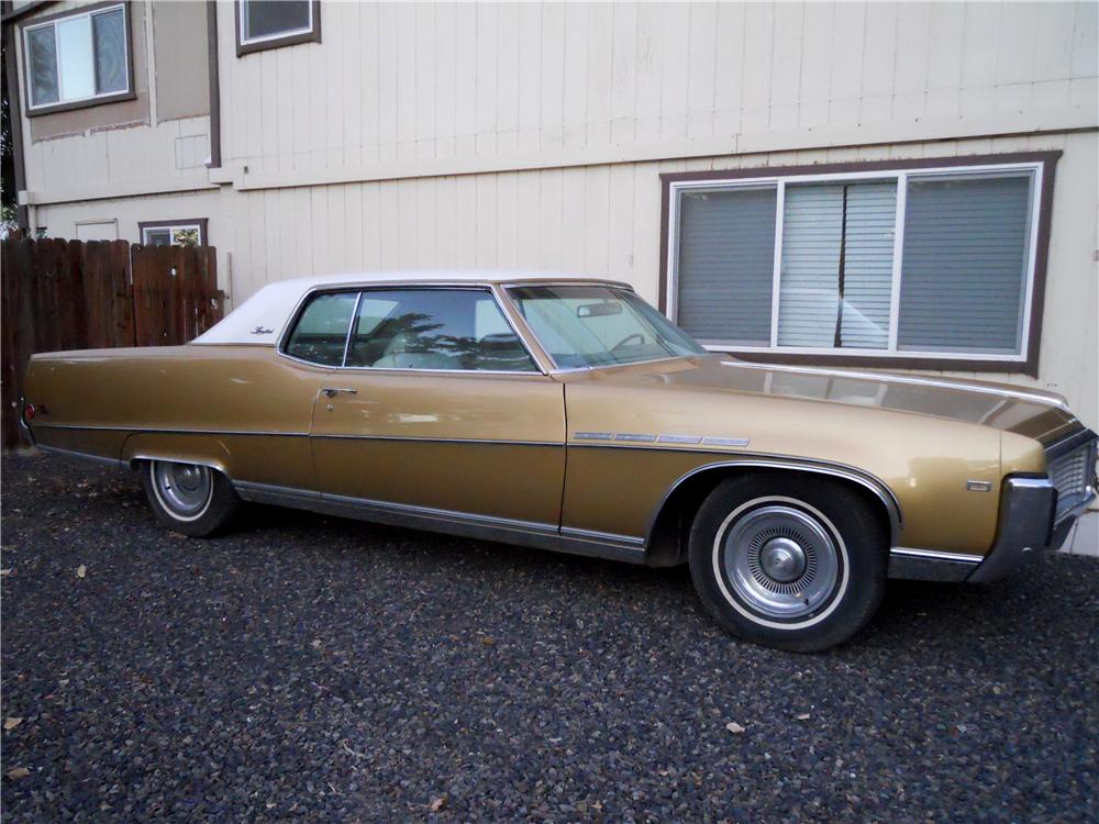 1969 BUICK ELECTRA 225 2 DOOR HARDTOP - Side Profile - 175200
