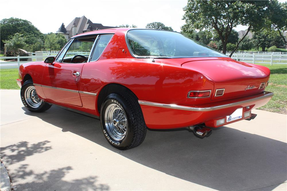 1987 AVANTI II 2 DOOR COUPE - Rear 3/4 - 175251