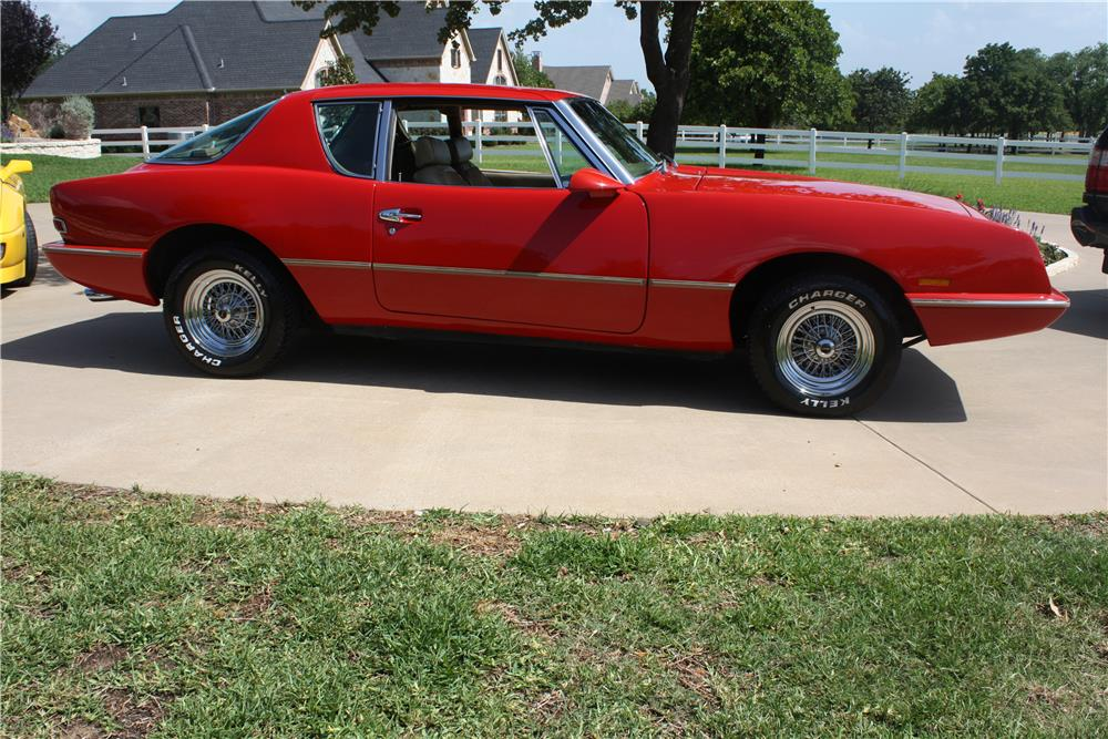 1987 AVANTI II 2 DOOR COUPE - Side Profile - 175251