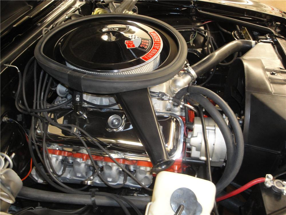 1969 CHEVROLET CAMARO SS 2 DOOR COUPE - Engine - 176894