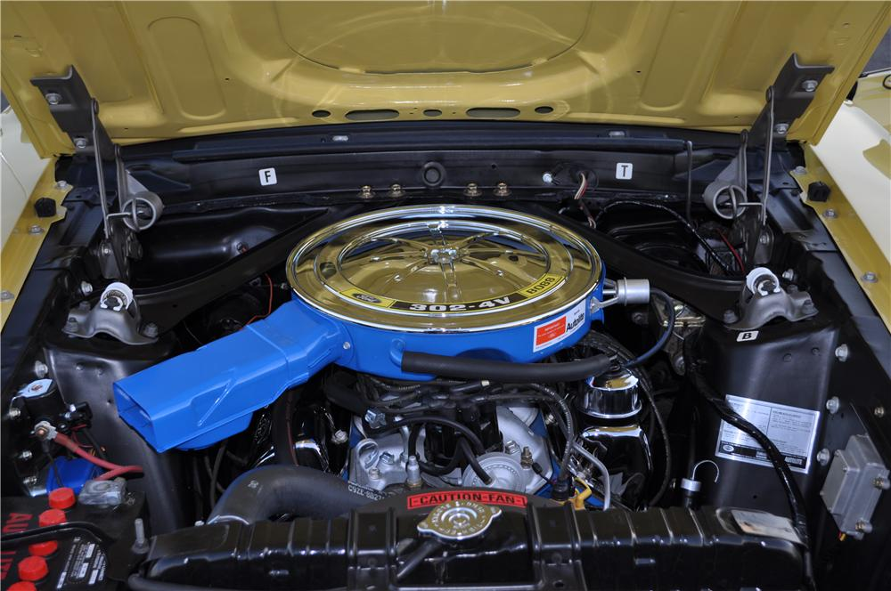 1969 FORD MUSTANG BOSS 302 FASTBACK 176904
