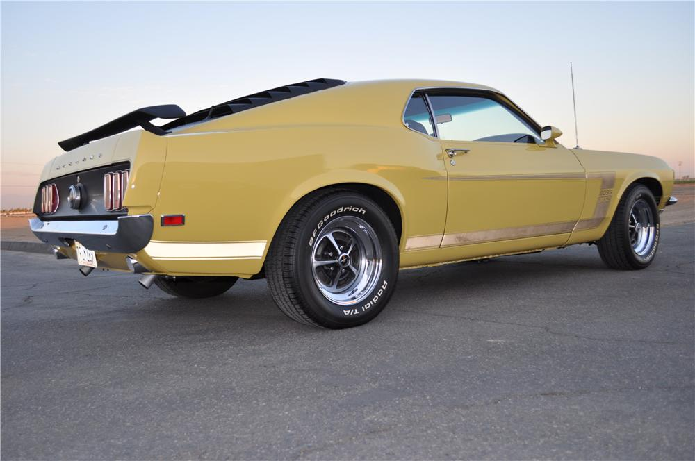1969 FORD MUSTANG BOSS 302 FASTBACK - Rear 3/4 - 176904
