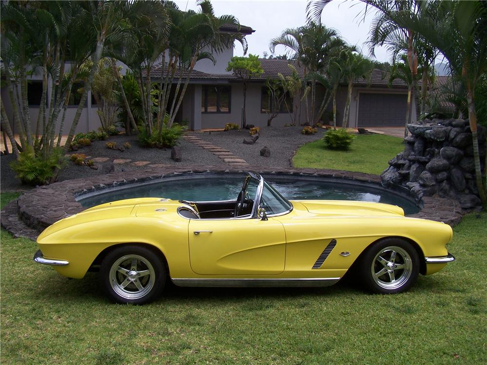 1961 Corvette For Sale >> 1962 CHEVROLET CORVETTE CUSTOM CONVERTIBLE - 176905