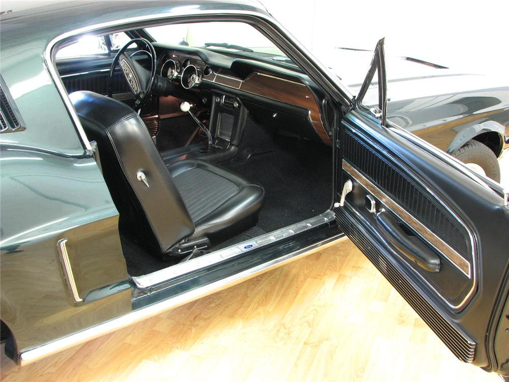 1968 Ford Mustang Gt Fastback 176909