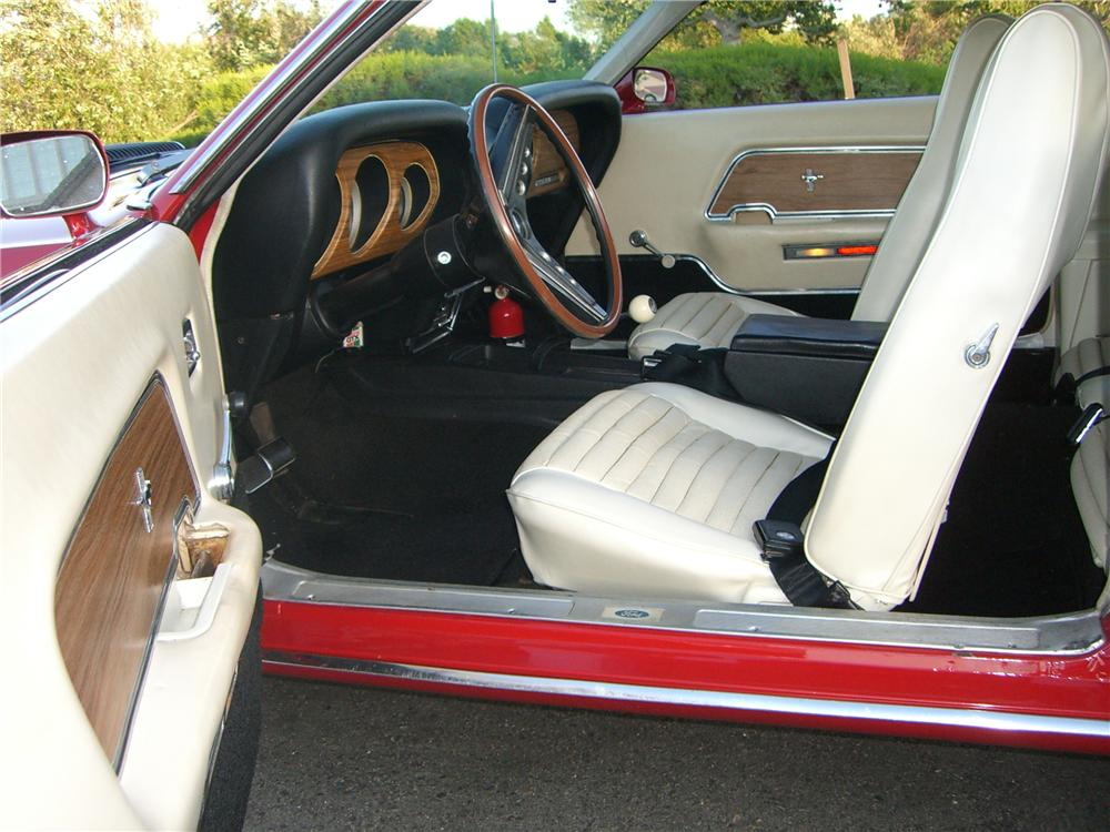 1969 FORD MUSTANG MACH 1 428 CJ FASTBACK - Interior - 176913