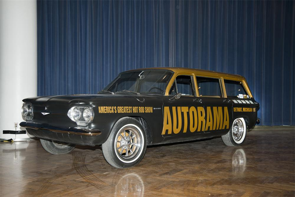 1961 CHEVROLET CORVAIR CUSTOM WAGON - Front 3/4 - 176924