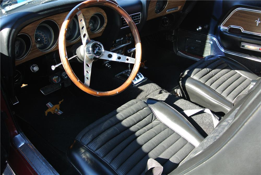 1969 FORD MUSTANG MACH 1 428 CJ FASTBACK - Interior - 176931