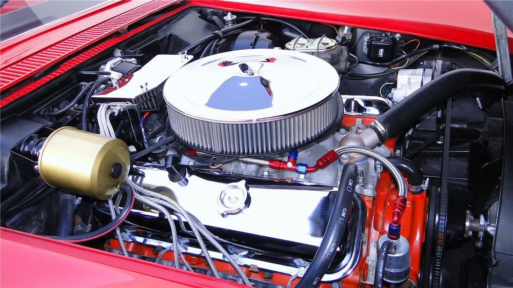 1968 CHEVROLET CORVETTE CONVERTIBLE - Engine - 176945